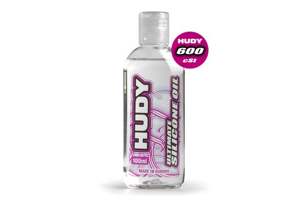 HUDY ULTIMATE SILICONE OIL 600 cSt - 100ML