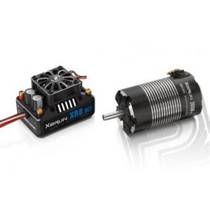 COMBO XR8 SCT s XERUN 4268 SD 1900Kv - G2 - černý