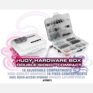 HUDY HARDWARE BOX - DOUBLE-SIDED - COMPACT