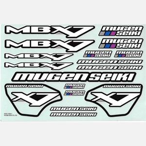 MBX-7 Polepy karoserie a křídla