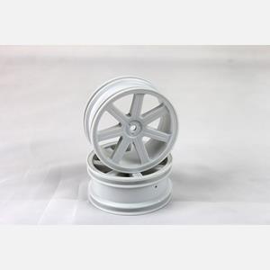 Paprskové disky přední, bílé (2 ks) - S10 BX