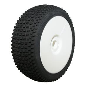 ROAD RUNNER SPORT (soft směs) Off-Road 1:8 Buggy gumy nalep. na bílých disk. (2ks.)