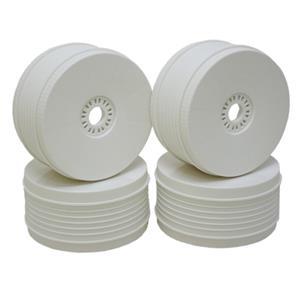 PST bílé disky (4 ks.)