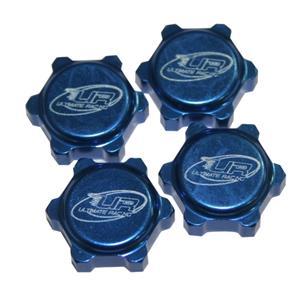 Odlehčené matky na kola pro modely KYOSHO / MUGEN / XRAY / CRONO RS7 / LOSI - modré