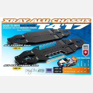 T4'17 ALU CHASSIS 2.0MM - SWISS 7075 T6