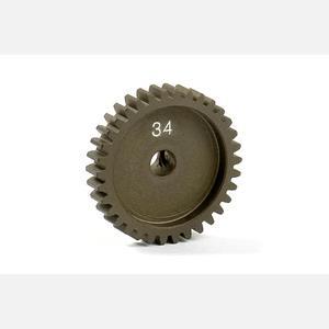 NARROW ALU PINION GEAR - HARD COATED 34T / 48