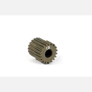 NARROW ALU PINION GEAR - HARD COATED 19T / 64