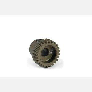 NARROW ALU PINION GEAR - HARD COATED 25T / 64