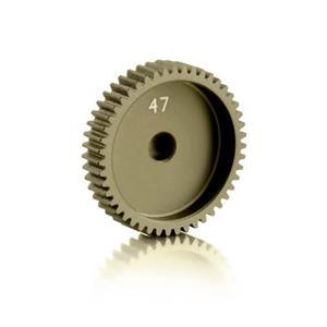NARROW ALU PINION GEAR - HARD COATED 47T / 64