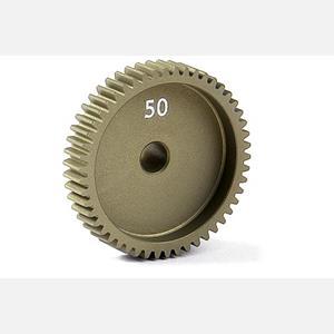 NARROW ALU PINION GEAR - HARD COATED 50T / 64