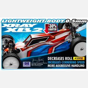 BODY FOR 1/10 2WD OFF-ROAD BUGGY 0.5MM - LIGHTWEIGHT