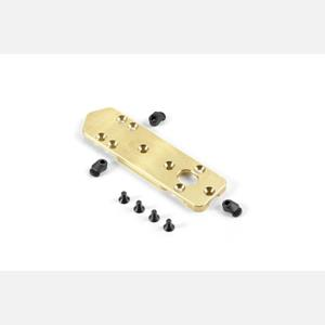 BRASS CHASSIS WEIGHT FRONT 60g - V2
