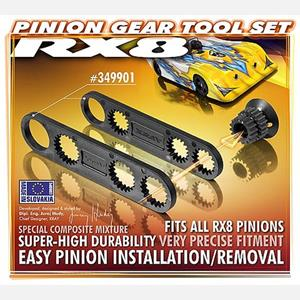 XRAY RX8 PINION GEAR TOOL SET (16~18T , 19~21T)
