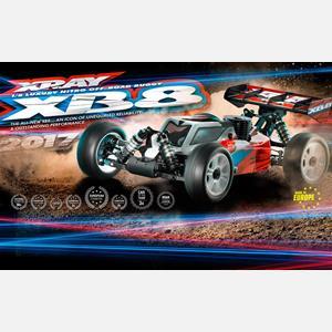 XRAY XB8 - 2017 SPECS