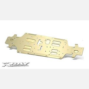 XB808'11 ALU CHASSIS LONG - SWISS 7075 T6 (3MM)