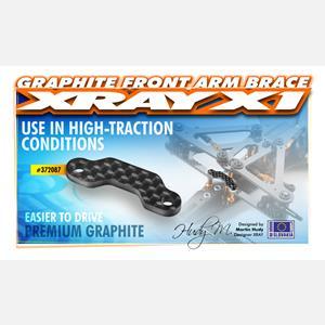 X1 GRAPHITE FRONT ARM BRACE - 2.5MM