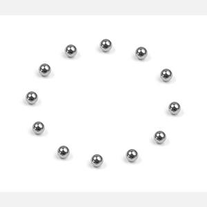 CARBIDE BALL 2.4MM FOR BALL DIFFERENTIAL  (12)
