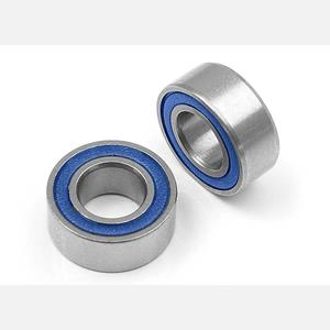 HIGH-SPEED BALL-BEARING 5x10x4 RUBBER SEALED  (2)