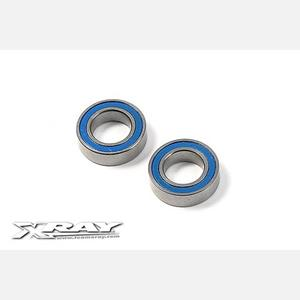 HIGH-SPEED BALL-BEARING 8x14x4 RUBBER SEALED  (2)