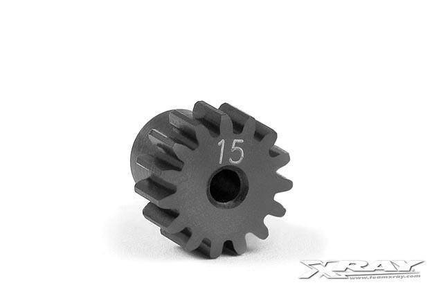 STEEL PINION GEAR 15T / 48